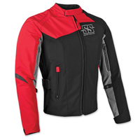Speed and Strength Women's Back Lash Red Textile Jacket