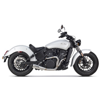 Two Brothers Racing Comp-S 2-1 Exhaust Stainless Steel with Carbon Fiber End Cap