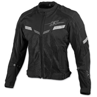 Speed and Strength Men's Power and the Glory Black Mesh Jacket