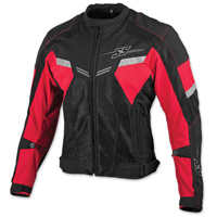 Speed and Strength Men's Power and the Glory Red Mesh Jacket
