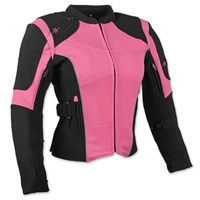 Speed and Strength Women's Comin' In Hot Textile Pink Jacket