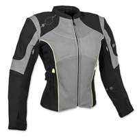 Speed and Strength Women's Comin' In Hot Textile Gray Jacket