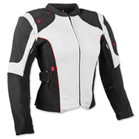 Speed and Strength Women's Comin' In Hot Textile White Jacket