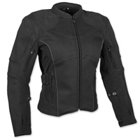 Speed and Strength Women's Comin' In Hot Textile Black Jacket