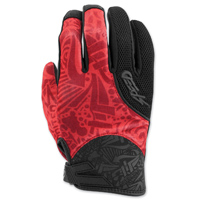 Speed and Strength Women's United by Speed Red Mesh Gloves