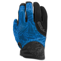 Speed and Strength Women's United by Speed Blue Mesh Gloves