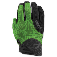 Speed and Strength Women's United by Speed Green Mesh Gloves