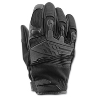 Speed and Strength Women's BackLash Black Gloves
