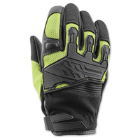 Speed and Strength Women's BackLash Black/Hi-Viz Gloves