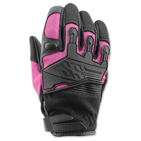 Speed and Strength Women's BackLash Black/Pink Gloves
