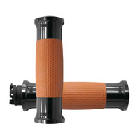 Avon Grips Black/Tan Gel Grips