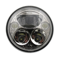 Custom Dynamics 7″ LED Chrome TruBEAM Headlight