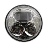 Custom Dynamics 7″ LED Chrome TruBEAM Headlight