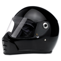 Biltwell Inc. Lane Splitter Gloss Black Full Face Helmet
