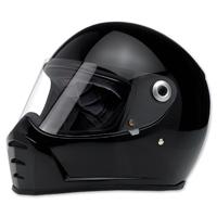 Biltwell Inc. Lane Splitter Gloss Black Full Face Helmet