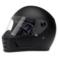 Biltwell Inc. Lane Splitter Flat Black Full Face Helmet