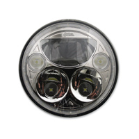 Custom Dynamics 5-3/4″ LED Chrome TruBEAM Headlight
