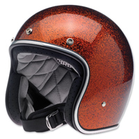 Biltwell Inc. Bonanza Root Beer Flake Open Face Helmet