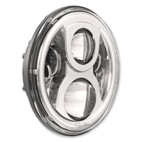 J.W. Speaker 7″ LED Chrome Evolution 2 Headlight