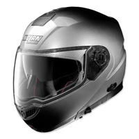 Nolan N104 Absolute Fade Silver Full Face Helmet