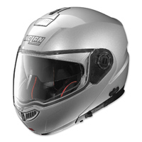 Nolan N104 Absolute Platinum Silver Full Face Helmet