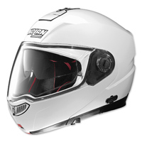 Nolan N104 Absolute Metallic White Full Face Helmet