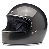 Biltwell Inc. Gringo Charcoal Metallic Full Face Helmet