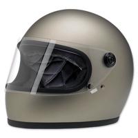 Biltwell Inc. Gringo S Flat Titanium Full Face Helmet