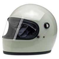 Biltwell Inc. Gringo S Gloss Polar Green Full Face Helmet