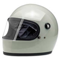 Biltwell Inc. Gringo S Gloss Polar Green Full Face Helmet