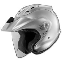 Arai CT-Z Aluminum Silver Open Face Helmet