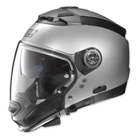 Nolan N44 Absolute MCS2 Platinum Silver Modular Helmet