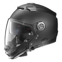 Nolan N44 Absolute MCS2 Flat Black Modular Helmet