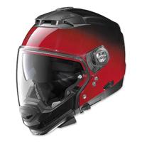 Nolan N44 EVO Red Fade Modular Helmet