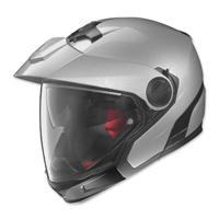 Nolan N40 Full MCS 2 Silver Modular Helmet