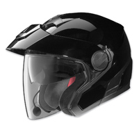 Nolan N40 MCS 2 Gloss Black Open Face Helmet