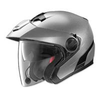 Nolan N40 MCS 2 Platinum Silver Open Face Helmet
