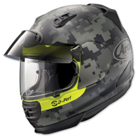 Arai Defiant Pro-Cruise Mimetic Yellow Frost Full Face Helmet