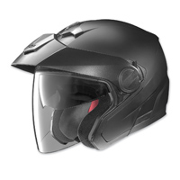 Nolan N40 Flat Black Open Face Helmet