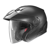 Nolan N40 Black Graphite Open Face Helmet