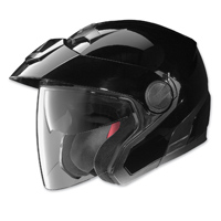 Nolan N40 Gloss Black Open Face Helmet