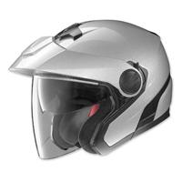 Nolan N40 Platinum Silver Open Face Helmet