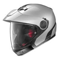 Nolan N40 Full Platinum Silver Modular Helmet