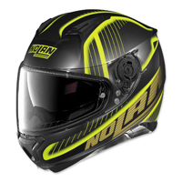 Nolan N87 Harp Black/Yellow Full Face Helmet