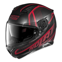 Nolan N87 Harp Black/Red Full Face Helmet