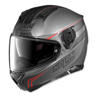 Nolan N87 Rapid Grey/Red Full Face Helmet