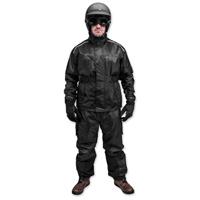 Black Brand Men's Tempest Two-Piece Black Rain Suit