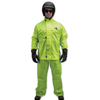 Black Brand Men's Two-Piece Hi-Vis Rain Suit