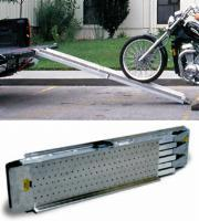 Folding Aluminum Motorcycle Ramp
