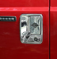 Harley-Davidson Bar & Shield Chrome Door Handle for Ford Super Duty